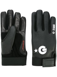 Givenchy Logo Gloves Black