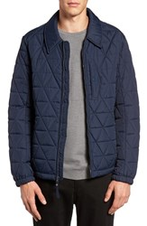 Marc New York Men's Quilted Mechanics Jacket Ink