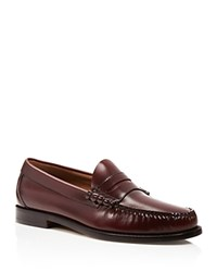 G.H. Bass And Co. Larson Beefroll Penny Loafers Burgundy