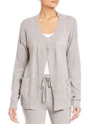 Hanro Lilou Drop Shoulder Cardigan Blackberry Paloma