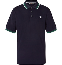 Boast Pique Tennis Polo Shirt Blue