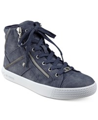 G By Guess Maker High Top Sneakers Women's Shoes Navy