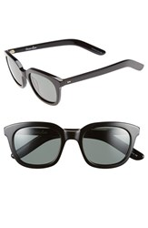 Women's Steven Alan 'Dudley' 47Mm Polarized Retro Sunglasses Black