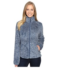 The North Face Osito 2 Jacket Shady Blue Stripe Women's Coat