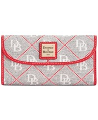 Dooney And Bourke Continental Clutch Wallet A Macy's Exclusive Style Grey