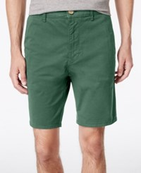 American Rag Men's Stretch Twill Shorts Only At Macy's Cilantro
