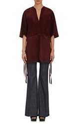 Derek Lam Women's Suede Tunic Purple