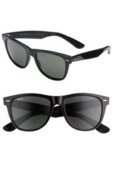 Men's Ray Ban 'Classic Wayfarer' 54Mm Sunglasses Black Green