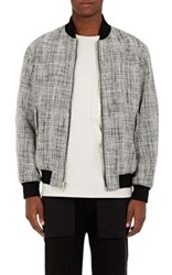 Public School Men's Melange Bomber Jacket Black