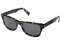 Shwood Canby Dark Forest Elm Burl Grey Sport Sunglasses Gray