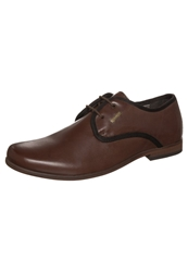 S.Oliver Laceups Cognac Brown