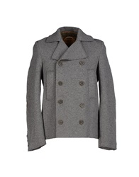 Novemb3r Coats Grey