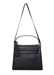 Valentino My Rockstud Medium Leather Handbag Black