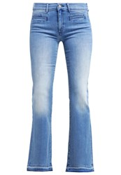 Wrangler Bootcut Jeans Shell Beauty Light Blue