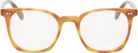 Oliver Peoples Brown Tortoiseshell L.A. Coen Optical Glasses