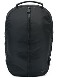 Emporio Armani Zipped Backpack Black