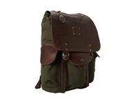 Will Leather Goods Lennon Backpack Loden Backpack Bags Green
