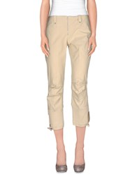 Marithe' F. Girbaud Marithe Francois Girbaud Trousers 3 4 Length Trousers Women Beige