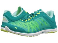Ryka Dynamic 2.5 Tropical Green Lime Women's Cross Training Shoes