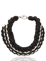 Alienina Synthesis Collection Necklace Black White