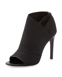 Charles David Diana Elasticized Open Toe Bootie Black