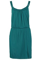 Twintip Jersey Dress Petrol