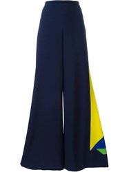 Ralph Lauren Applique Detail Trousers Blue