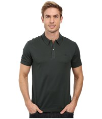 Lacoste Short Sleeve Mercerized Pique Polo W Tonal Embroid Croc Bronze Men's Short Sleeve Pullover