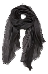 Women's Echo 'Radiance' Eyelash Fringe Wrap Black