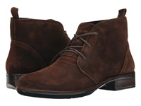 Naot Footwear Levanto Seal Brown Suede Women's Boots