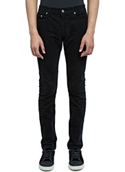 Saint Laurent Corduroy Slim Leg Pants Black