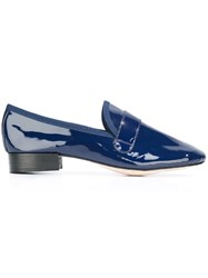 Repetto Pointed Toe Loafers Blue