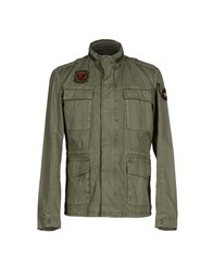 Bomboogie Coats And Jackets Jackets Men Khaki