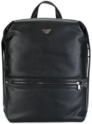 Emporio Armani Boxy Backpack Black