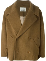 Henrik Vibskov Cropped Coat Brown