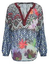 Desigual Alcina Tunic Marino Multicoloured