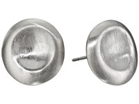 Karen Kane Verbena Petal Stud Earrings Silver Earring