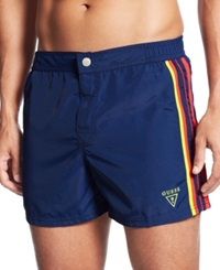 Guess Short Board Swim Trunks