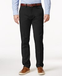 Kenneth Cole Reaction Men's Slim Fit Sustainable Stretch Chino Pants Black