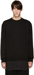 D By D Black Layered Pullover
