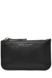 Marc Jacobs Leather Gotham Key Pouch Black