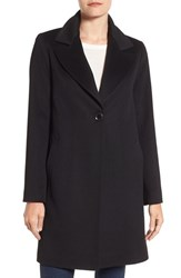 Fleurette Women's Loro Piana Wool One Button Coat