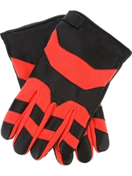 Adam Kimmel Geometric Print Gloves Black