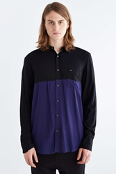 Globe Turner Long Sleeve Button Down Shirt Black