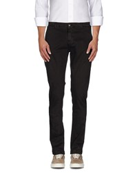 One Seven Two Trousers Casual Trousers Men Dark Brown