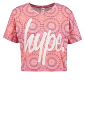 Hype Spiro Print Tshirt Multi Red
