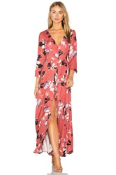 Yumi Kim Brooklyn Maxi Dress Coral