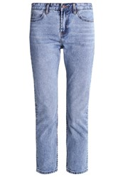 New Look Paceman Straight Leg Jeans Mid Blue