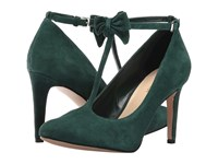 Nine West Hollison Dark Green Suede High Heels
