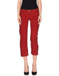 Sportmax Code Trousers 3 4 Length Trousers Women Red